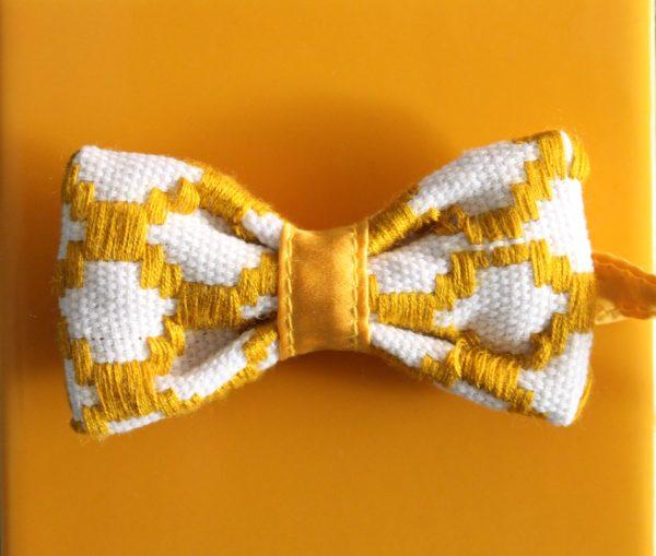 nœud papillon jaune original Kentemust